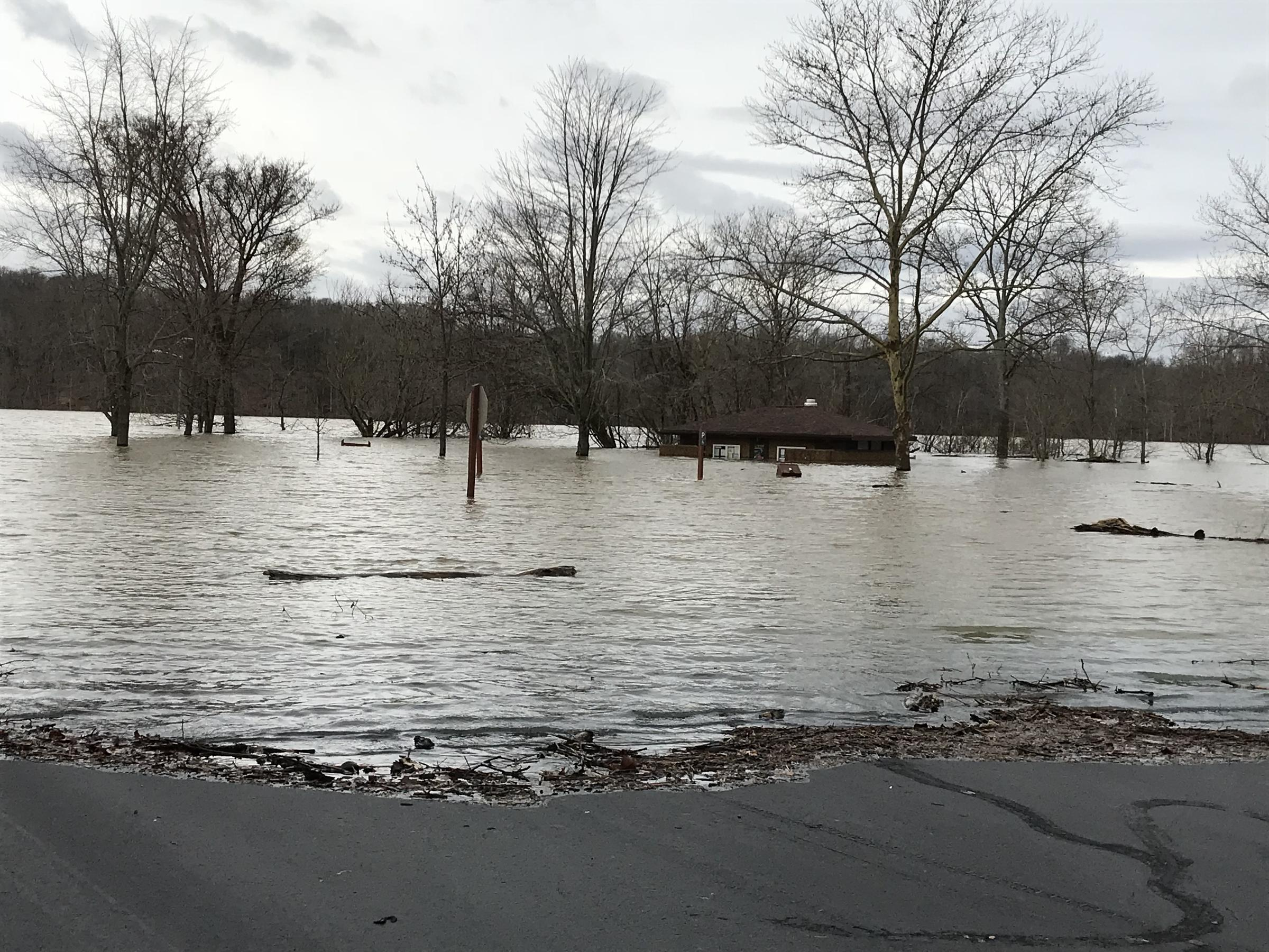 A Clermont County Lake Helps Prevent Major Flooding In