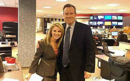 WGRR'S Chris & Janeen Dub Co-Anchors' Blended Family 'The News 5