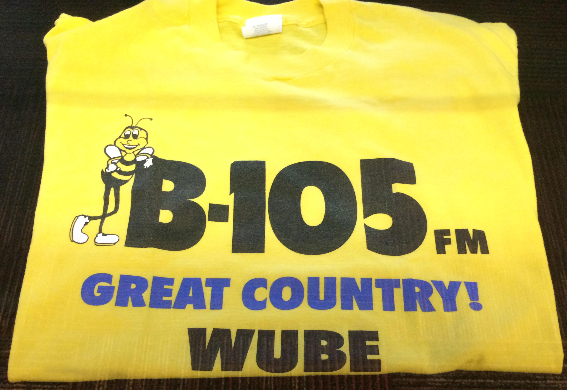 WUBE FM T Shirt Displayed By Media Heritage At The Main Public Library Downtown In 2017