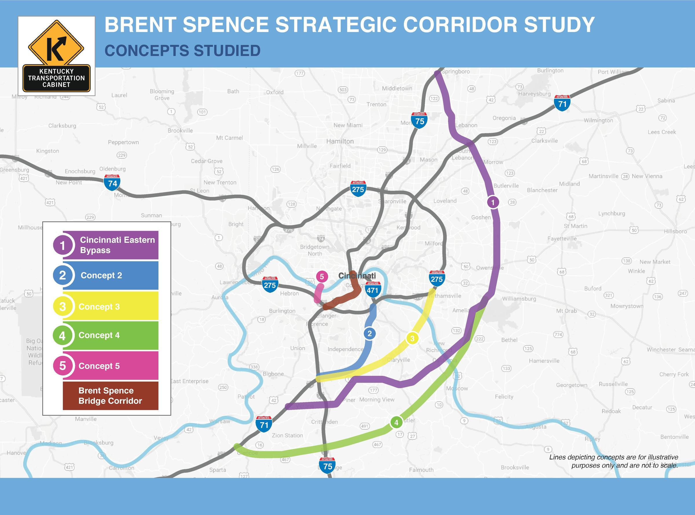 Brent Spence Bridge Study Recommends New Bridge, Still No