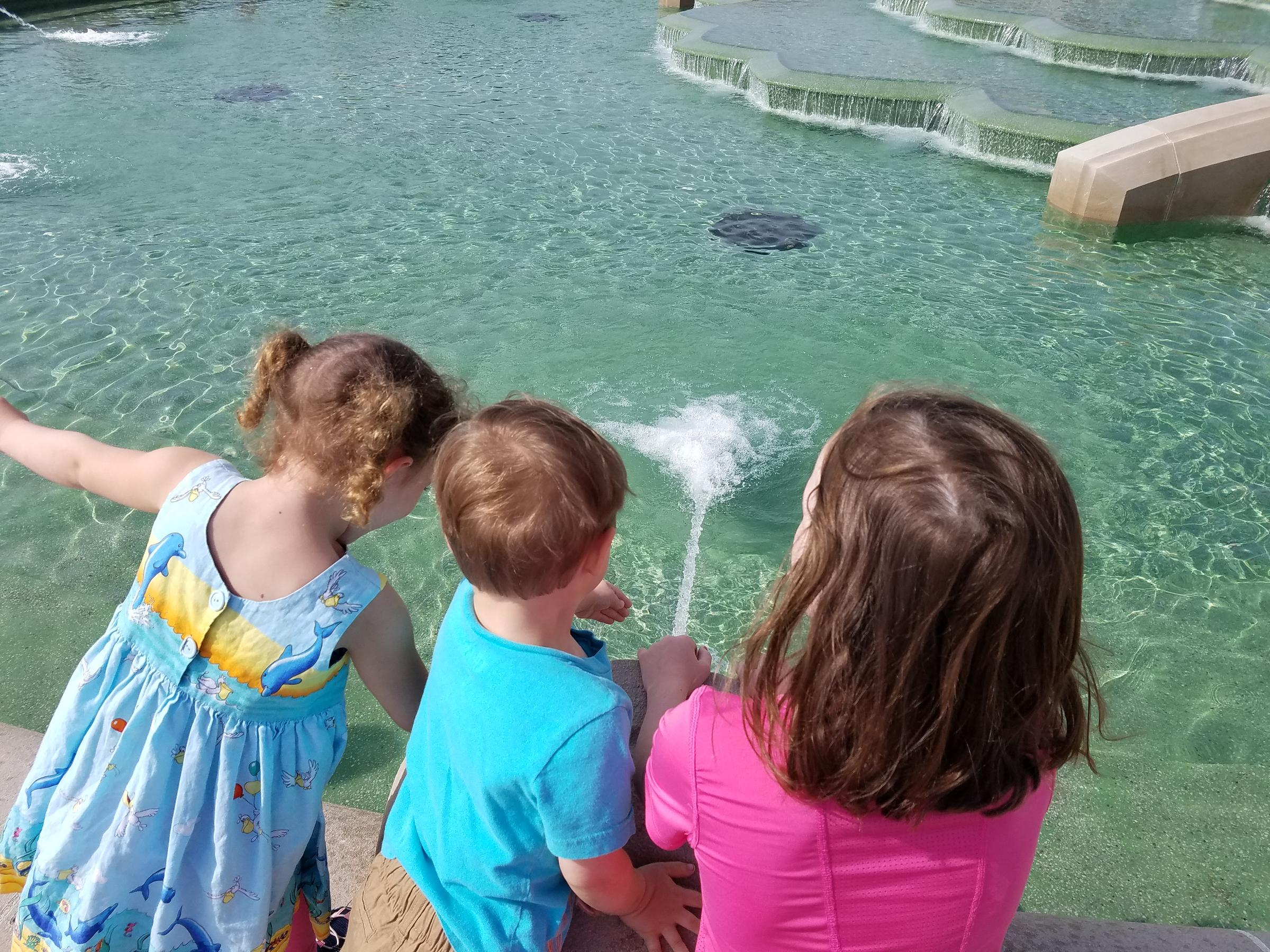 After 3 Years, Water Returns To Union Terminal Fountain | WVXU