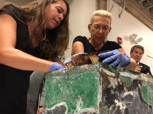 See What's Inside The 100-Year-Old Time Capsule Discovered Under Statue | WWNO