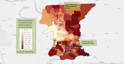 In Diverse East Baton Rouge, An Affluent White Area Seeks ...