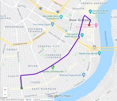 new orleans parade routes map It S Beginning To Look A Lot Like Mardi Gras Here S Where Feb new orleans parade routes map