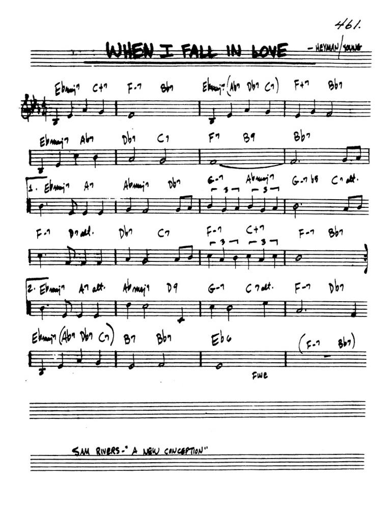 All Music Chords one sweet day sheet music : Bring Your Own Presents: One Sweet Day (When I Fall in Love) | WWNO