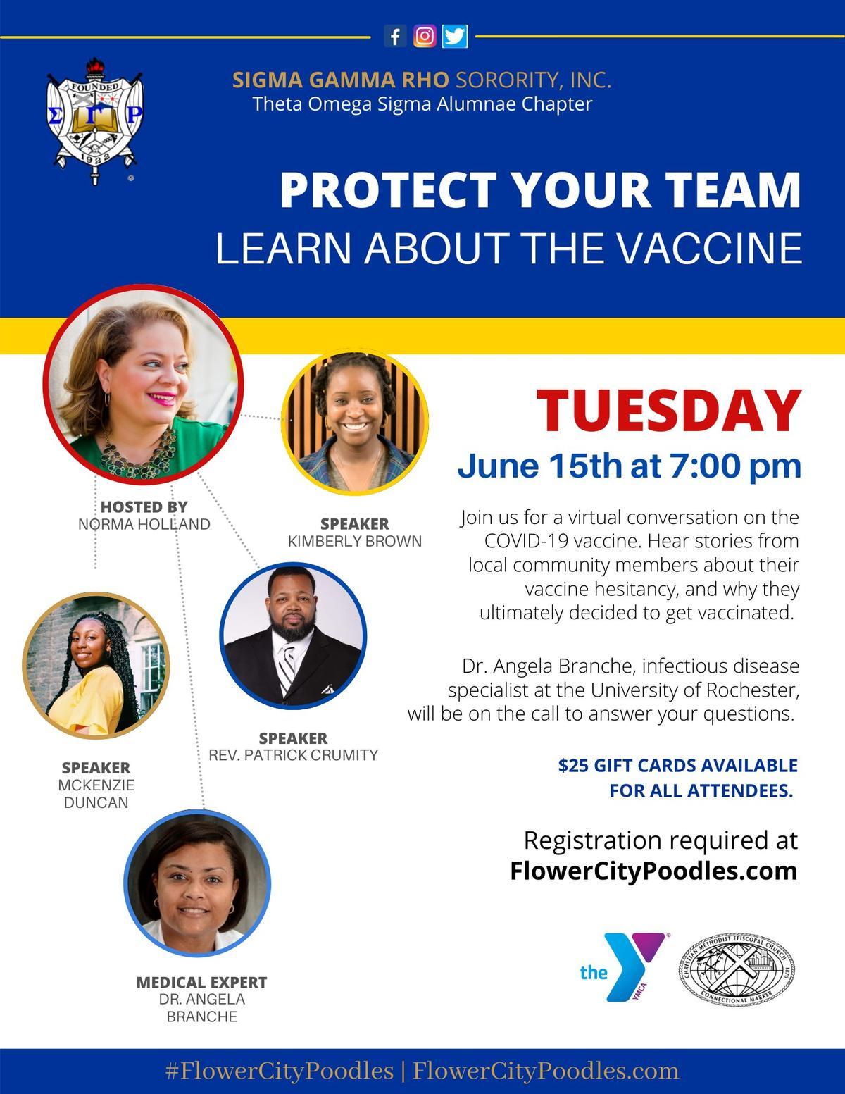 Historically Black Sorority in New York Works to Eliminate Coronavirus Vaccine Hesitancy