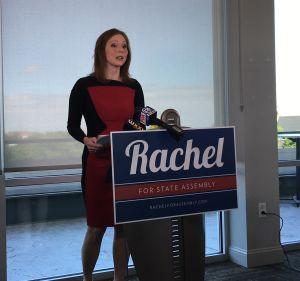 Rachel Barnhart Kicks Off Assembly Campaign | WXXI News