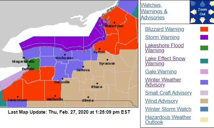 Winter storm warning in effect for Peterborough and area: Environment Canada