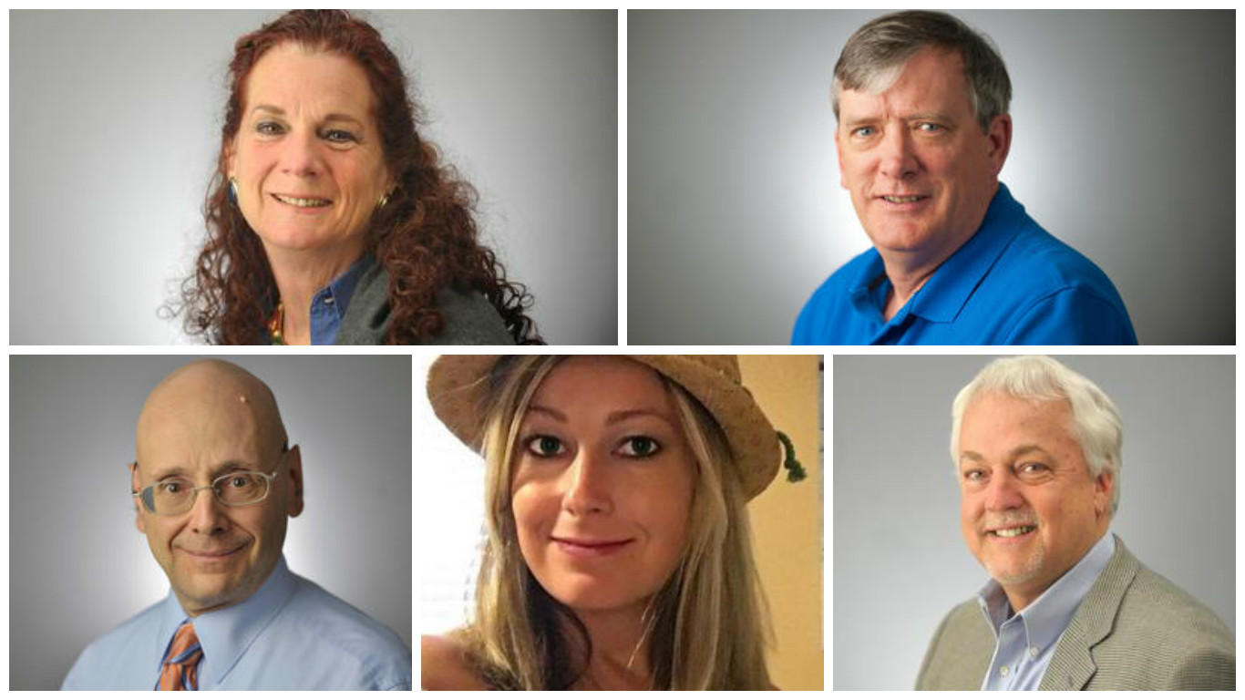 capital gazette shooting victims - HD 1366×768