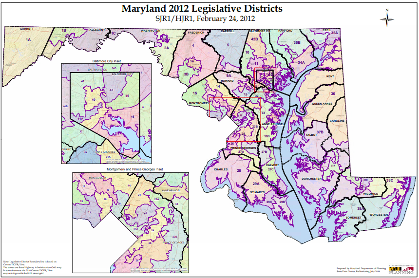 maryland senate district map Primary Election 2018 State Senate Wypr maryland senate district map